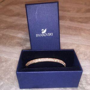 rose gold swarvoski bracelet